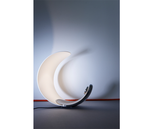 Curl by Luceplan, from Eurolite. Also available through Casa DiLuce, Dark Tools and QuasiModo. $435.