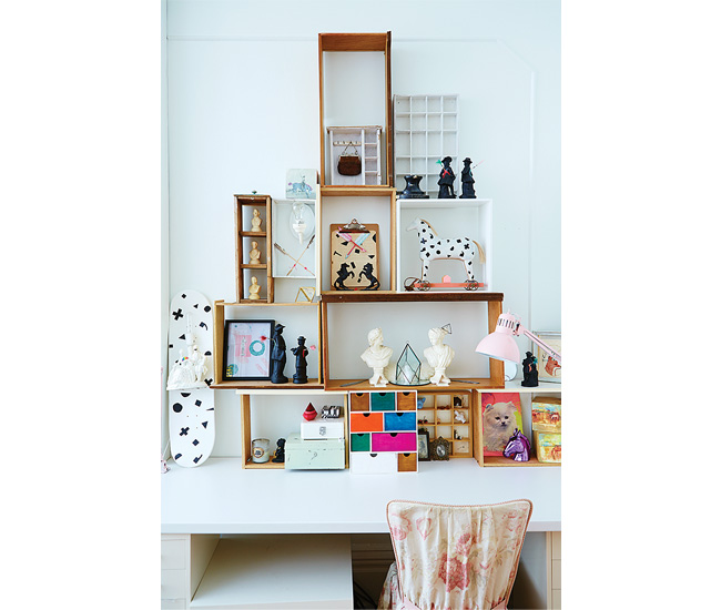 5 Change up your art and decor. Mahmood Popal and Danielle Hession's Kensington Market apartment is a space in flux, filled with tiny collectibles and leftovers from past projects.