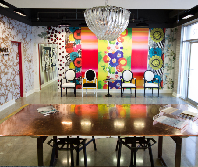 New Wall unrolls world-class wallpaper designs.