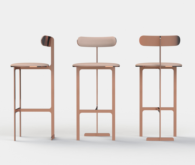 YP's Park Place stools.