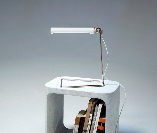 Castor's Coil Lamp –which is powered by an outmoded Apple laptop charger – won the 2014 AZ Awards Best Lighting Design.