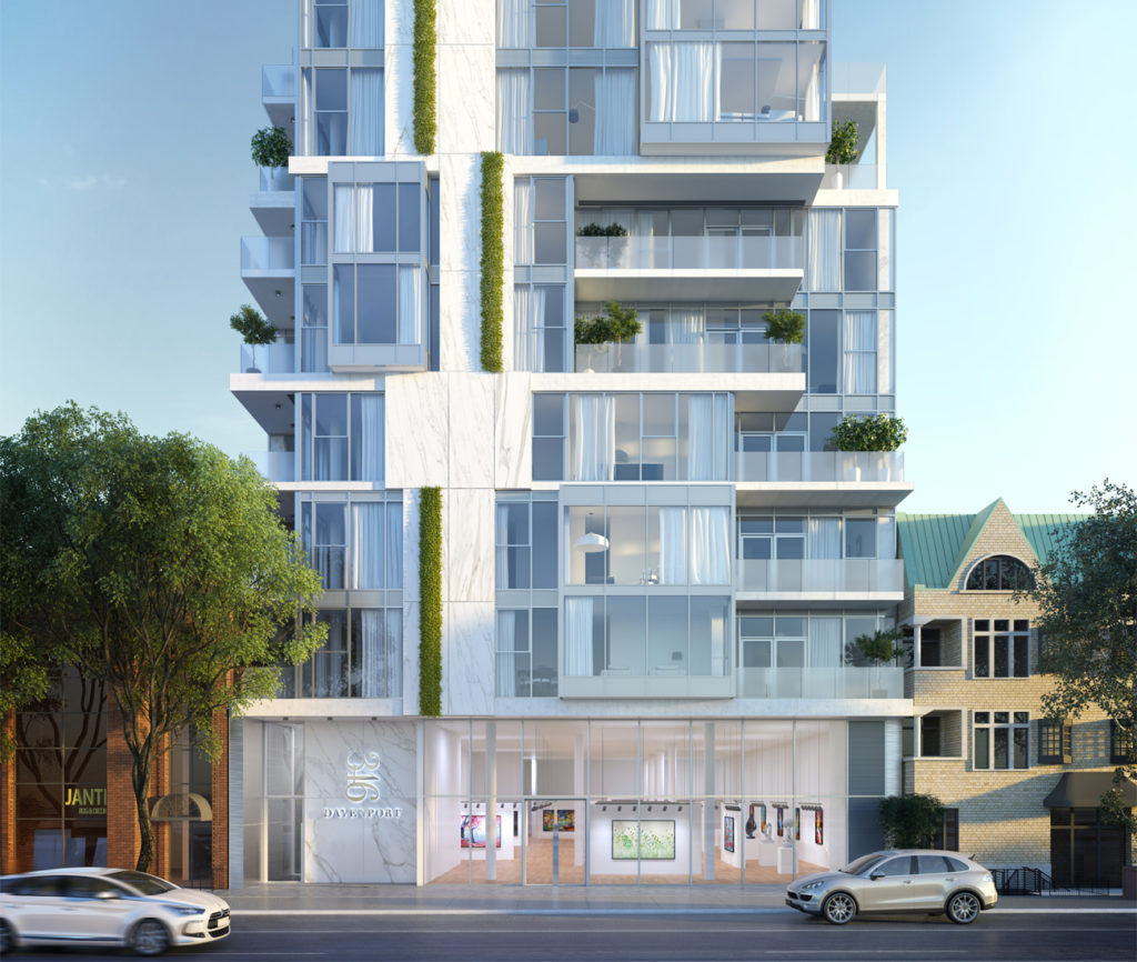 Our roundup of six neighbourhood-minded condo developments includes 346 Davenport, a luxe midtown mid-rise that offers privacy and spaciousness.