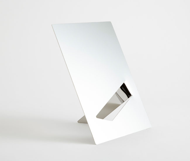 The Easy Mirror, a Good Thing product designed by Wolfond. Photo courtesy of Good Thing.
