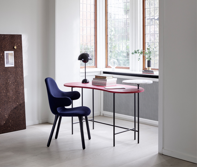 Build a home office for the job you want. Desk by & Tradition.