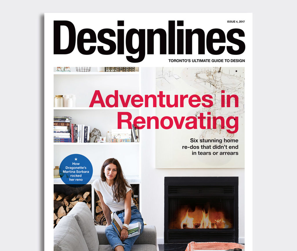 Indie darling Martina Sorbara rocks our cover and a stunning Bloorcourt reno. Photo by Naomi Finlay.
