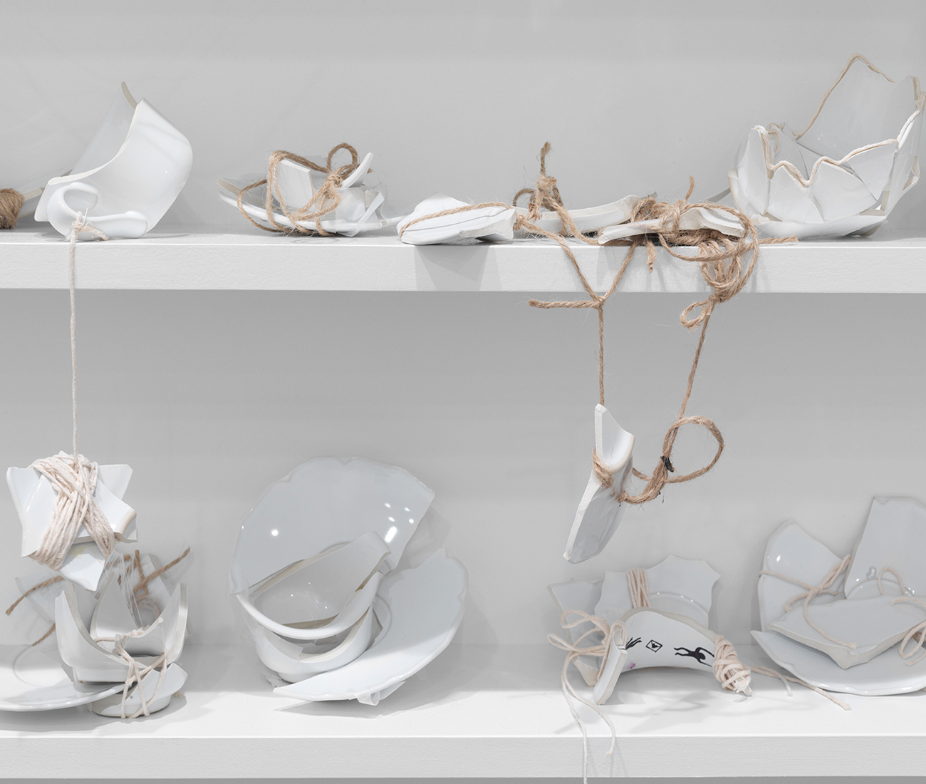 Yoko Ono, Mend Piece (Galerie Lelong, New York 2015/2016)