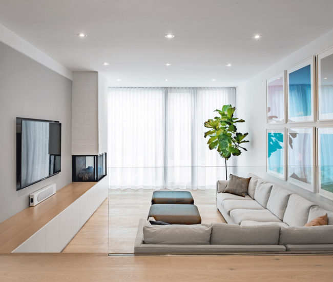 Here's Why Sunken Living Rooms Make Perfect Sense