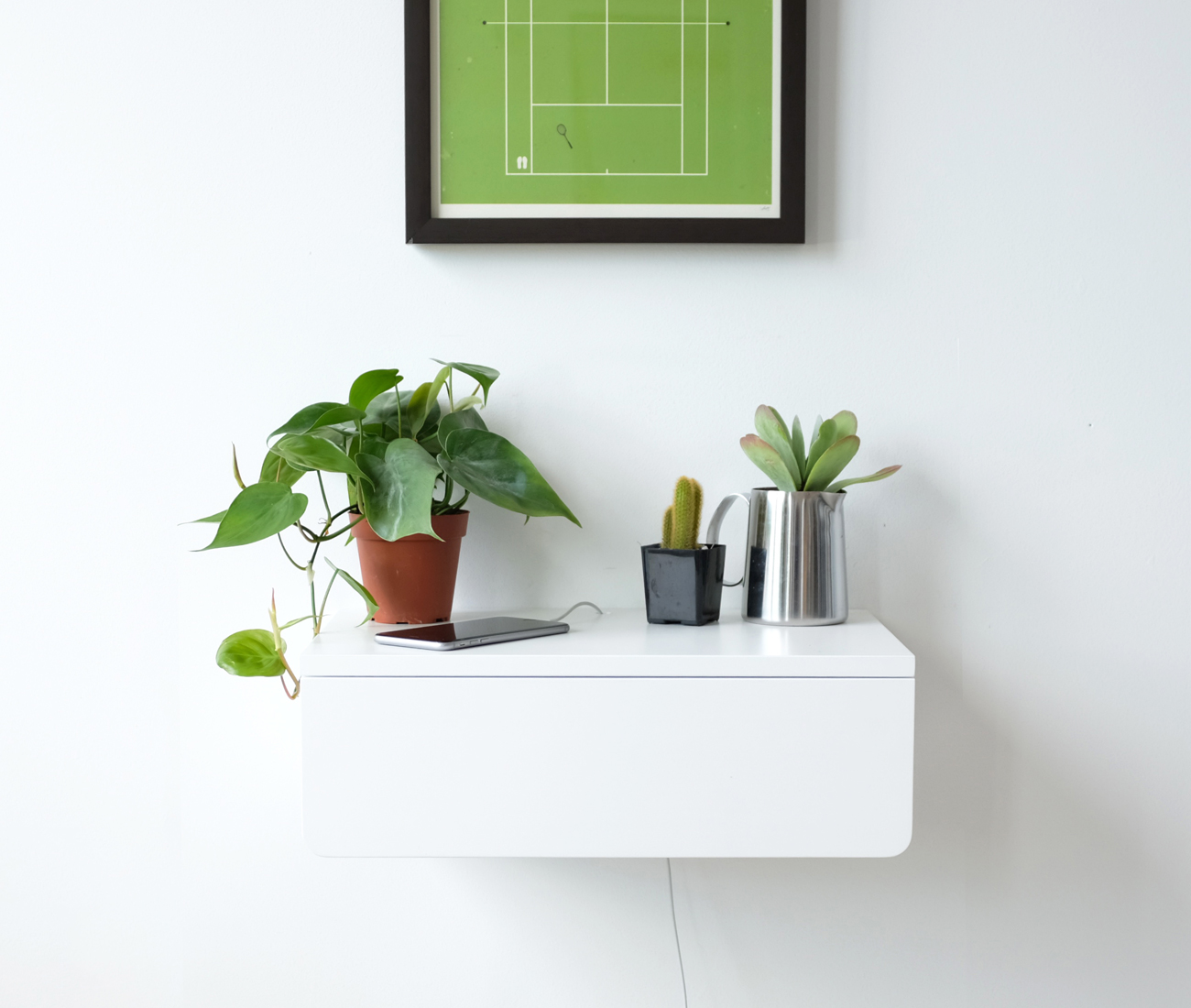 Buoy Nightstand Floating Shelf Kroft Toronto Design