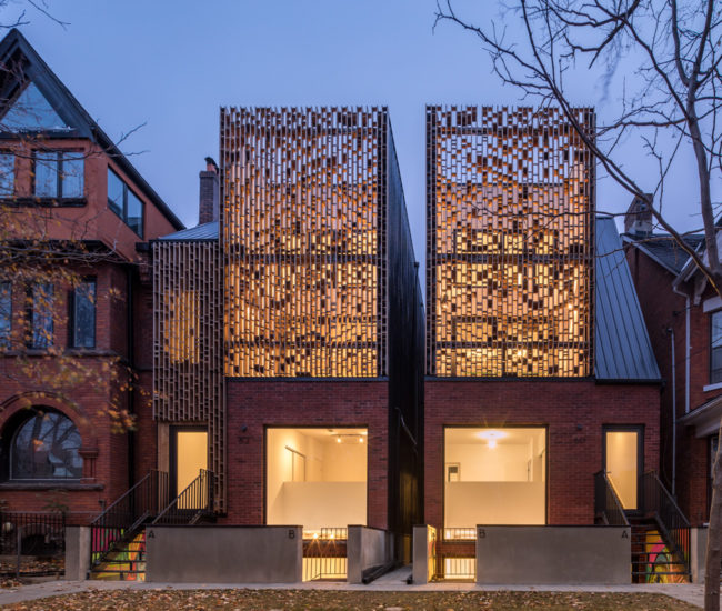 Batay-Csorba Architects Bring Dappled Light To Parkdale