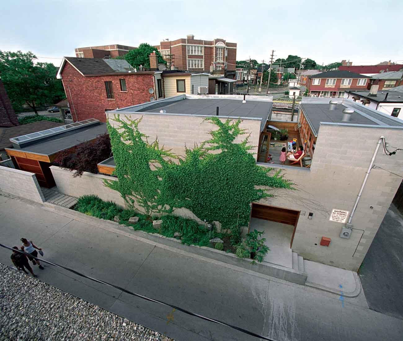 Studio Junction Terrace House Toronto Designlines Magazine