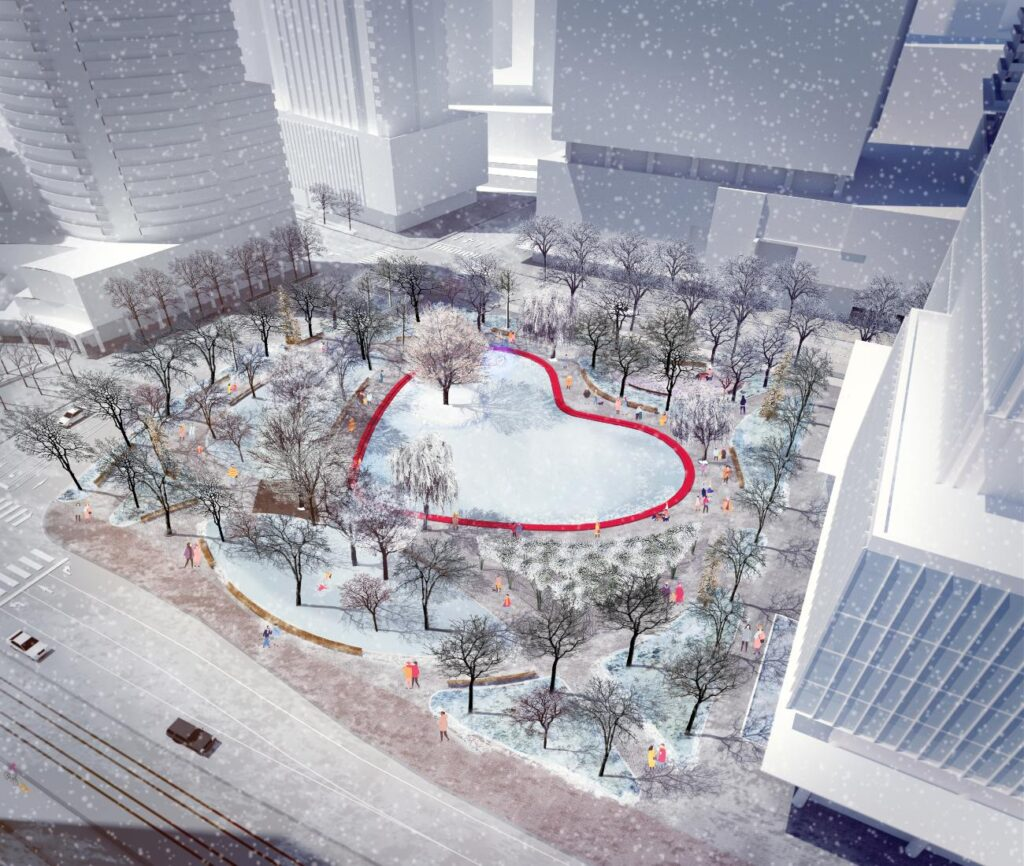 Image courtesy of Claude Cormier et Associés and Waterfront Toronto.