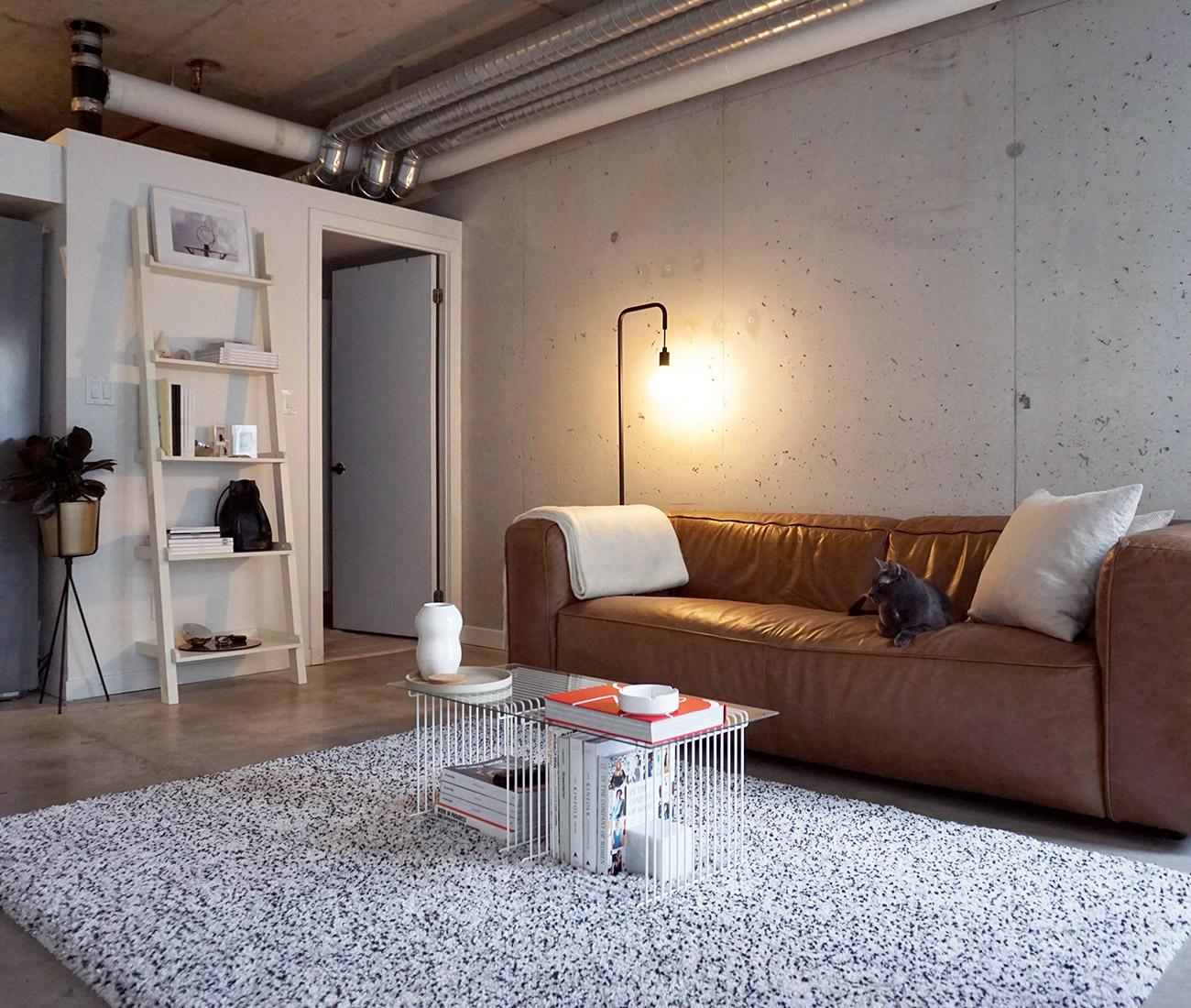 Liberty Village Apartment Brandi Lynne Justin Aguilar Designlines Magazine Small Space Decorating