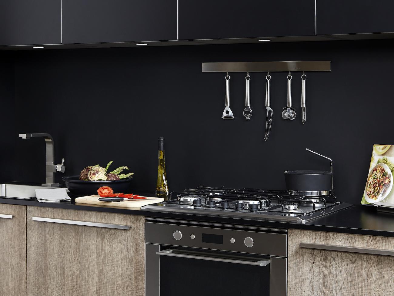 Trevisana Kitchens, Black Matte Finishes