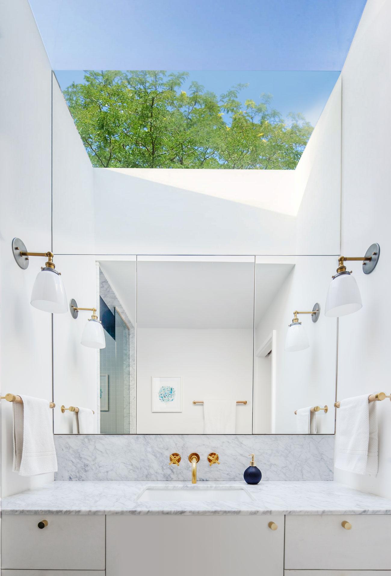 CAB Architects Bathroom Skylight Reno Designlines Toronto