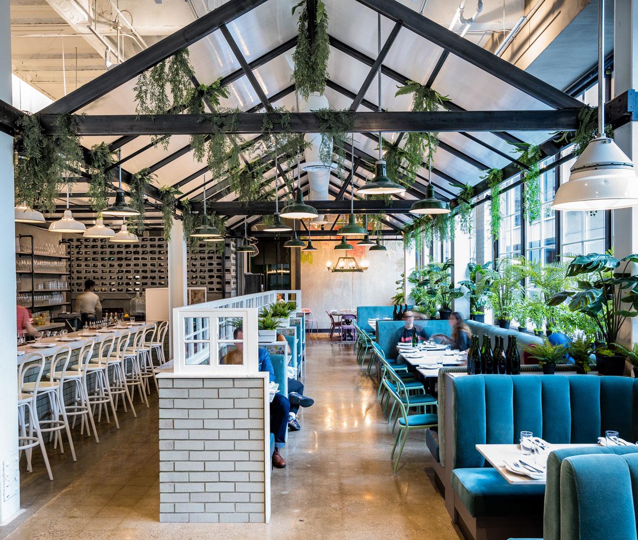 Rosalinda Restaurant Brings Greenhouse Vibes To The City Designlines Magazine
