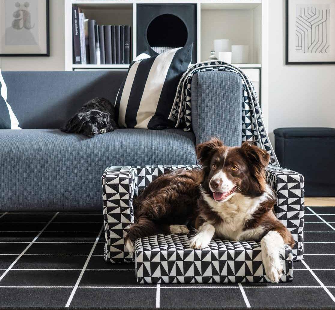 Lurvig Ikea dog and cat bed designlines