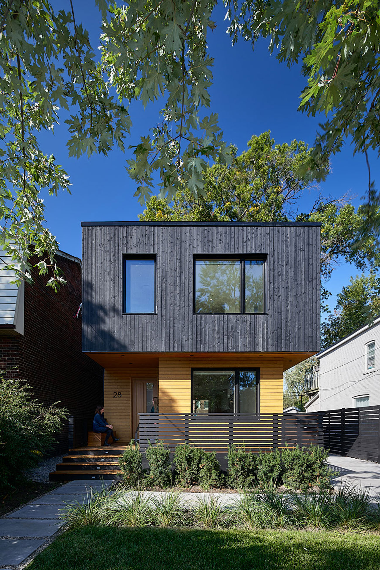 Black Wood Cladding Toronto Designlines Black Timber House Shou Sugi Ban House Charred Wood DPO Architecture