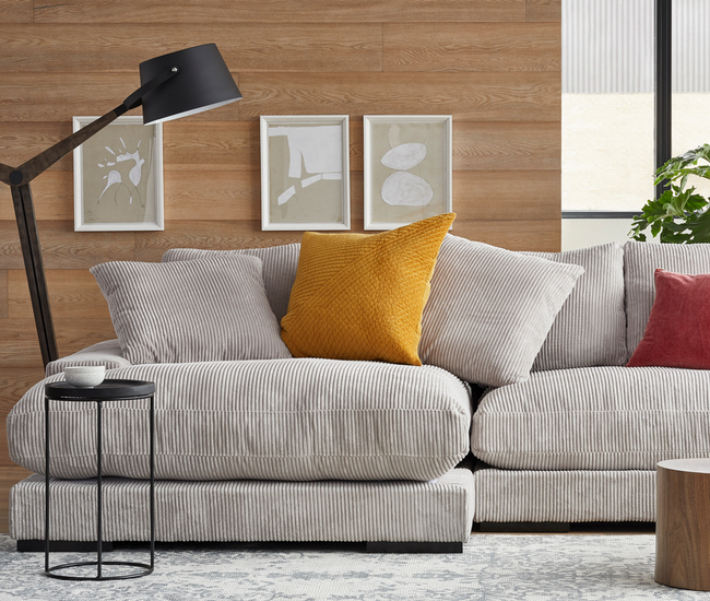 Must S Corduroy Sofa Is Tufted