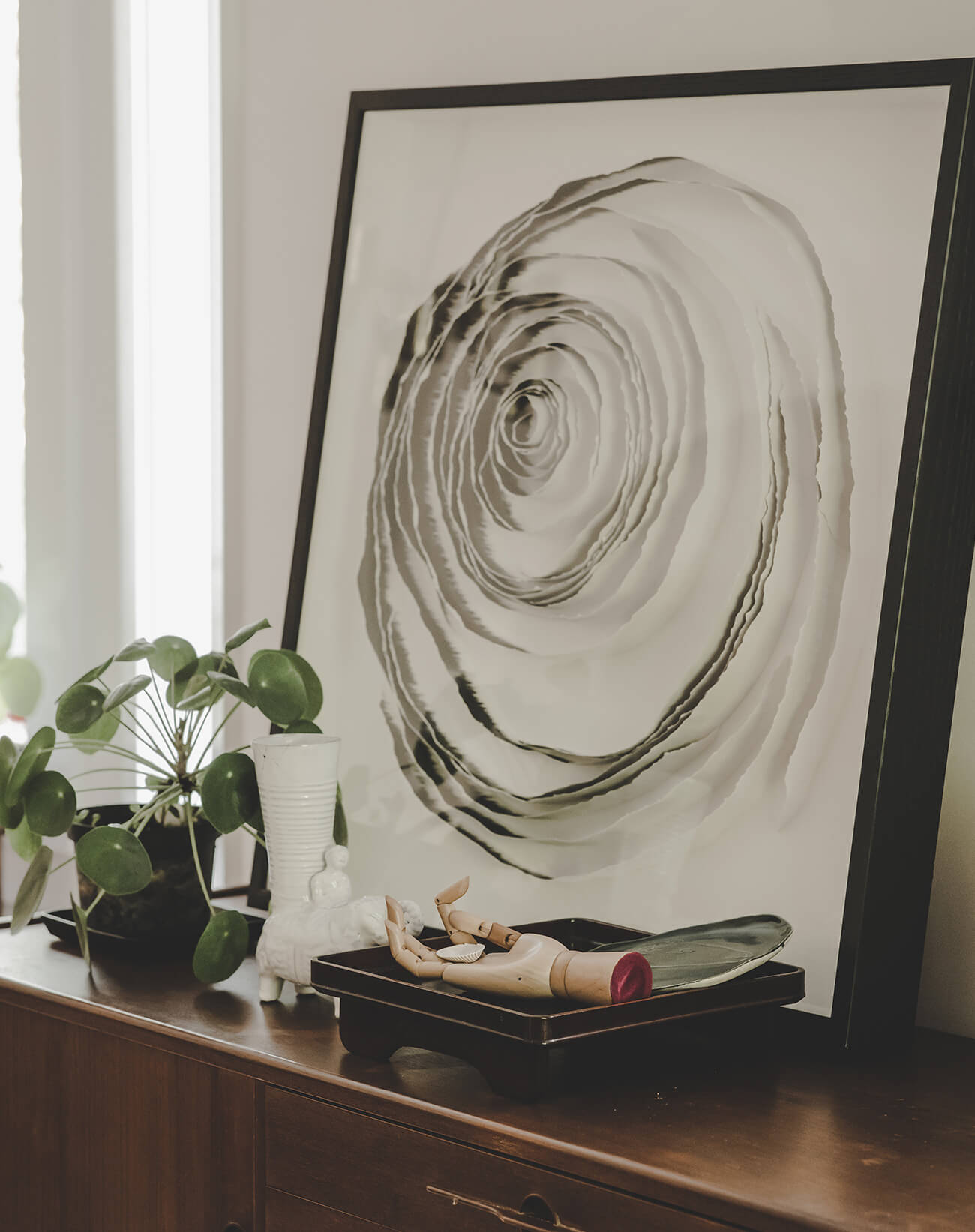 Edge Paper Spiral by Deborah Moss/Moss & Lam.